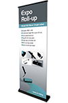 Expo Roll-up Black,