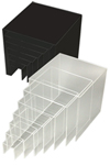 Nesting Clear Shelves x 7